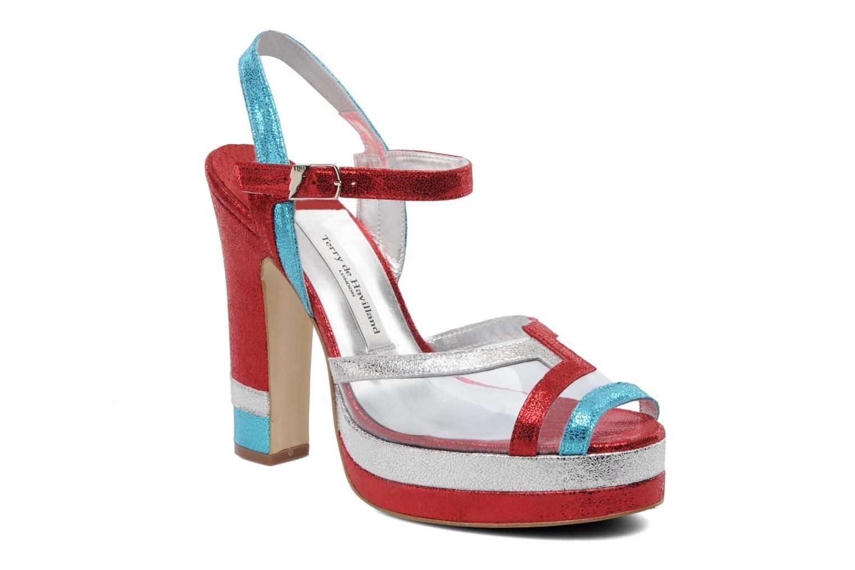 Sandales et nu-pieds Terry de Havilland Deco Multicolore vue détail/paire