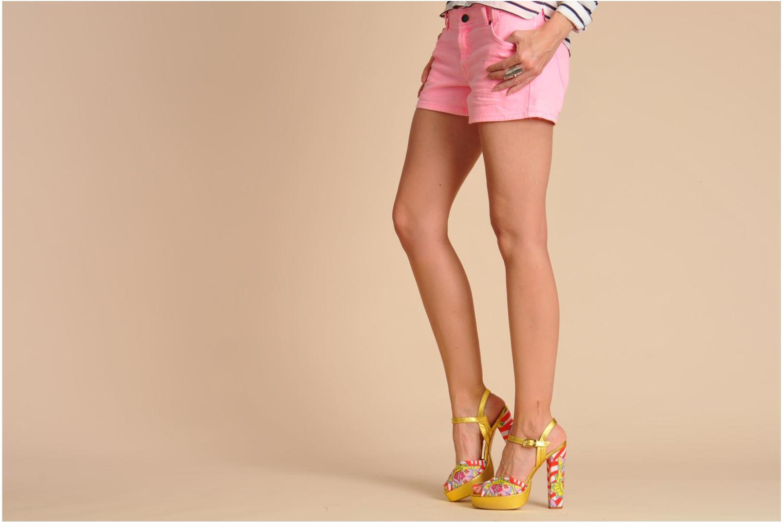 Sandalen Terry de Havilland Coco mehrfarbig ansicht von unten / tasche getragen