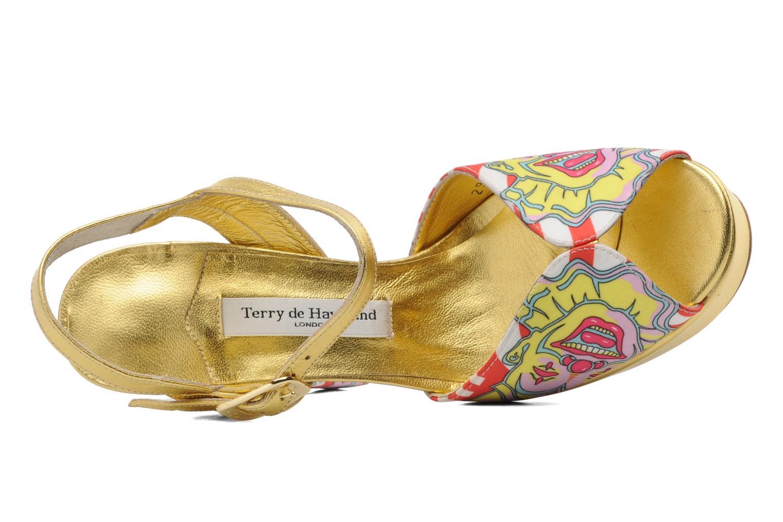 Sandalen Terry de Havilland Coco mehrfarbig ansicht von links