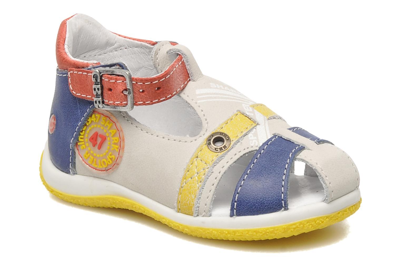Sandales et nu-pieds GBB GEORGIO Gris vue détail/paire
