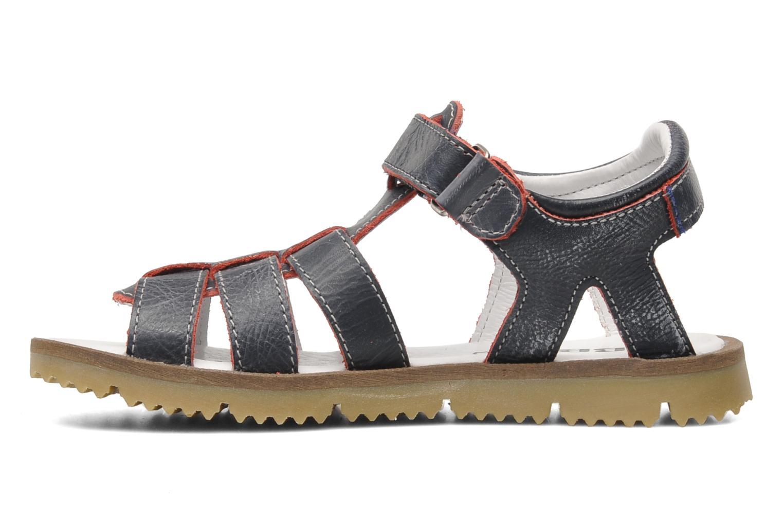 Sandales et nu-pieds GBB GREG Bleu vue face
