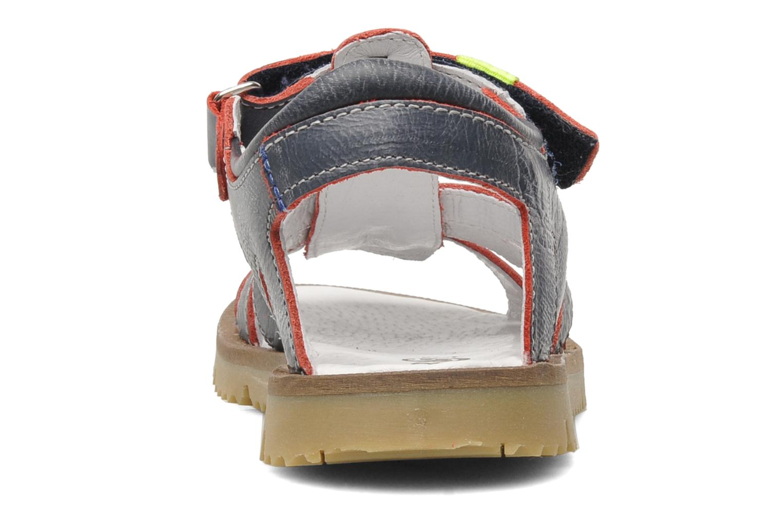 Sandales et nu-pieds GBB GREG Bleu vue droite