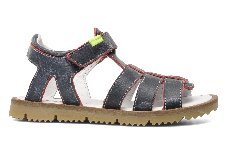Sandales et nu-pieds GBB GREG Bleu vue derrière