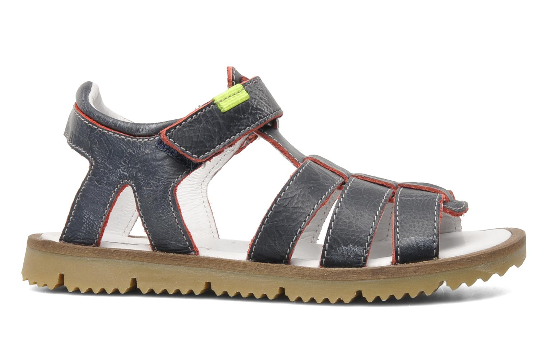 Sandaler GBB GREG Blå bild från baksidan