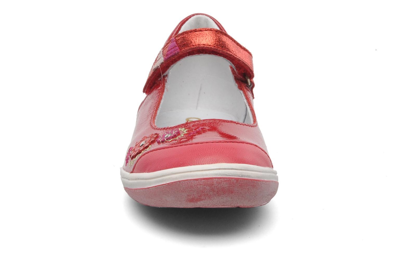 Ballerinas GBB GIOVANA rot schuhe getragen