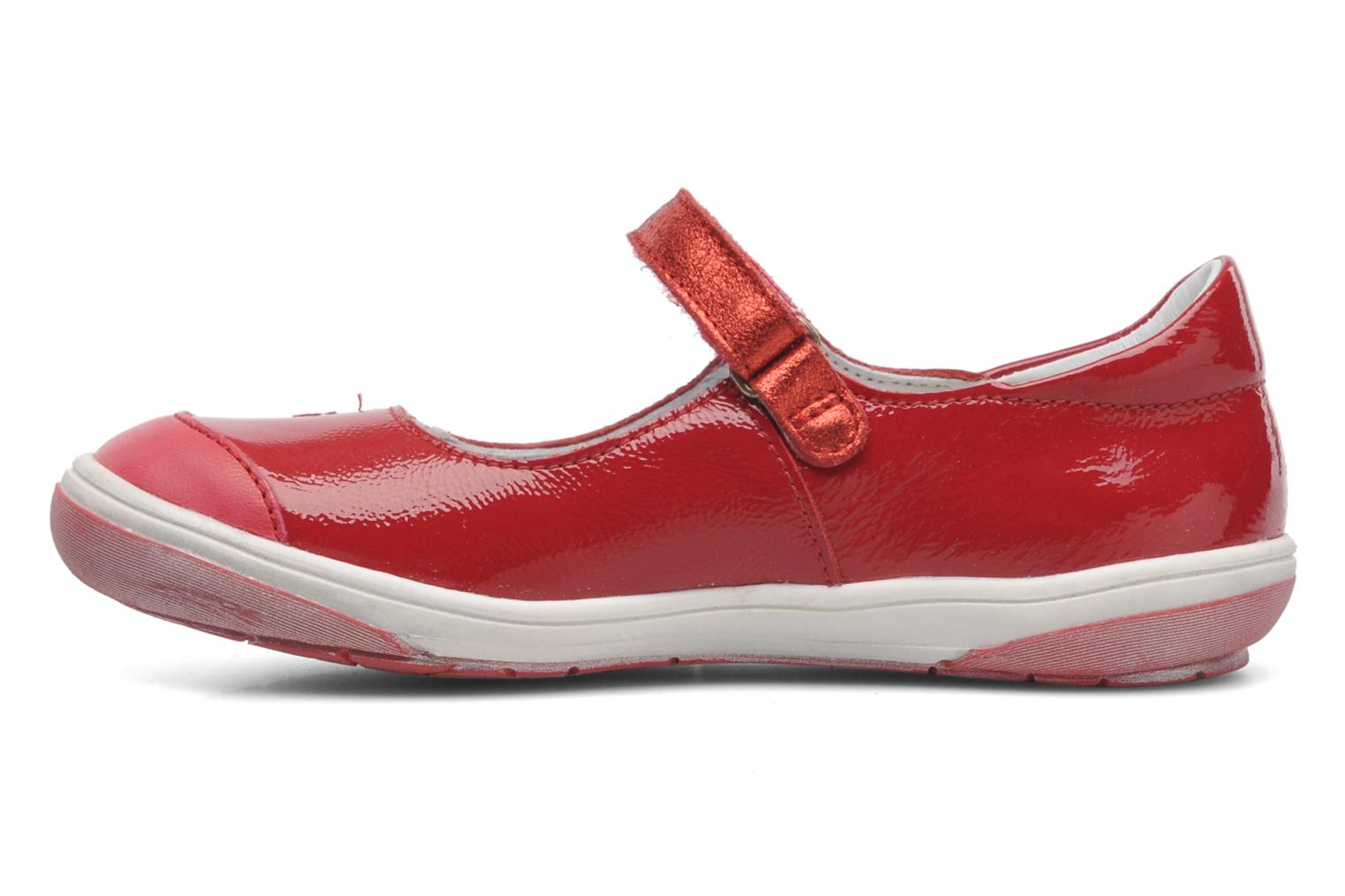 Ballet pumps GBB GIOVANA Red front view