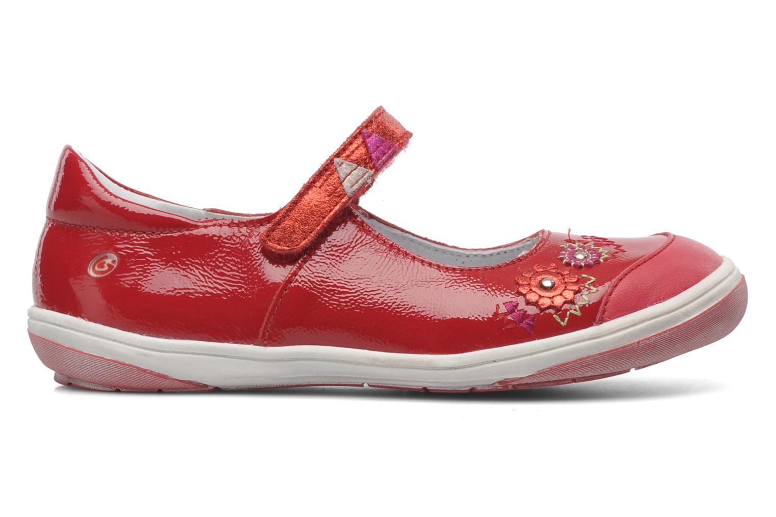 Ballet pumps GBB GIOVANA Red back view