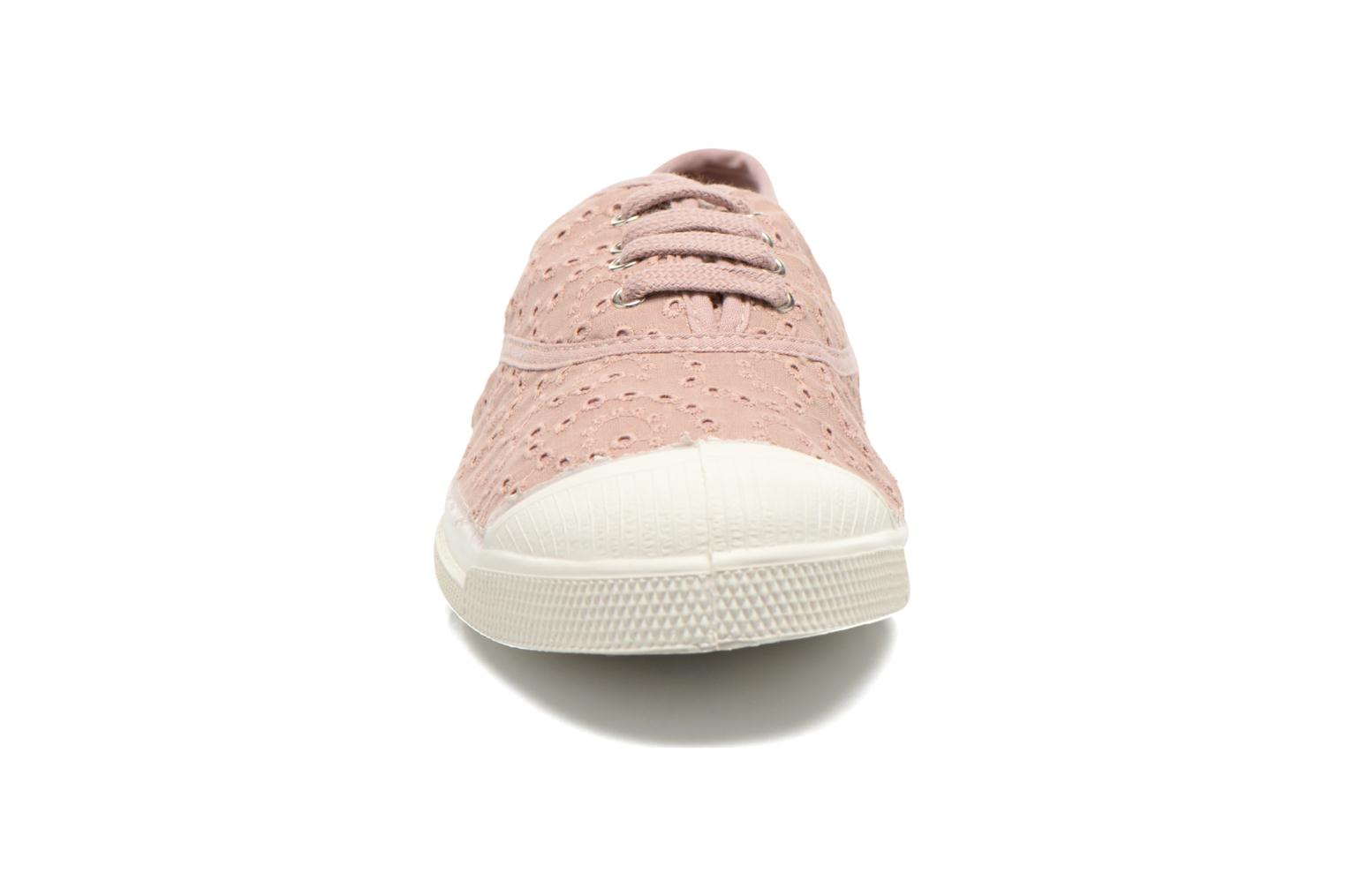 Sneakers Bensimon Tennis Broderie Anglaise Roze model