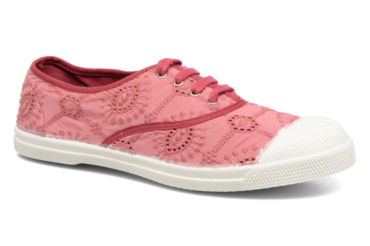 Tennis Broderie Anglaise Rose