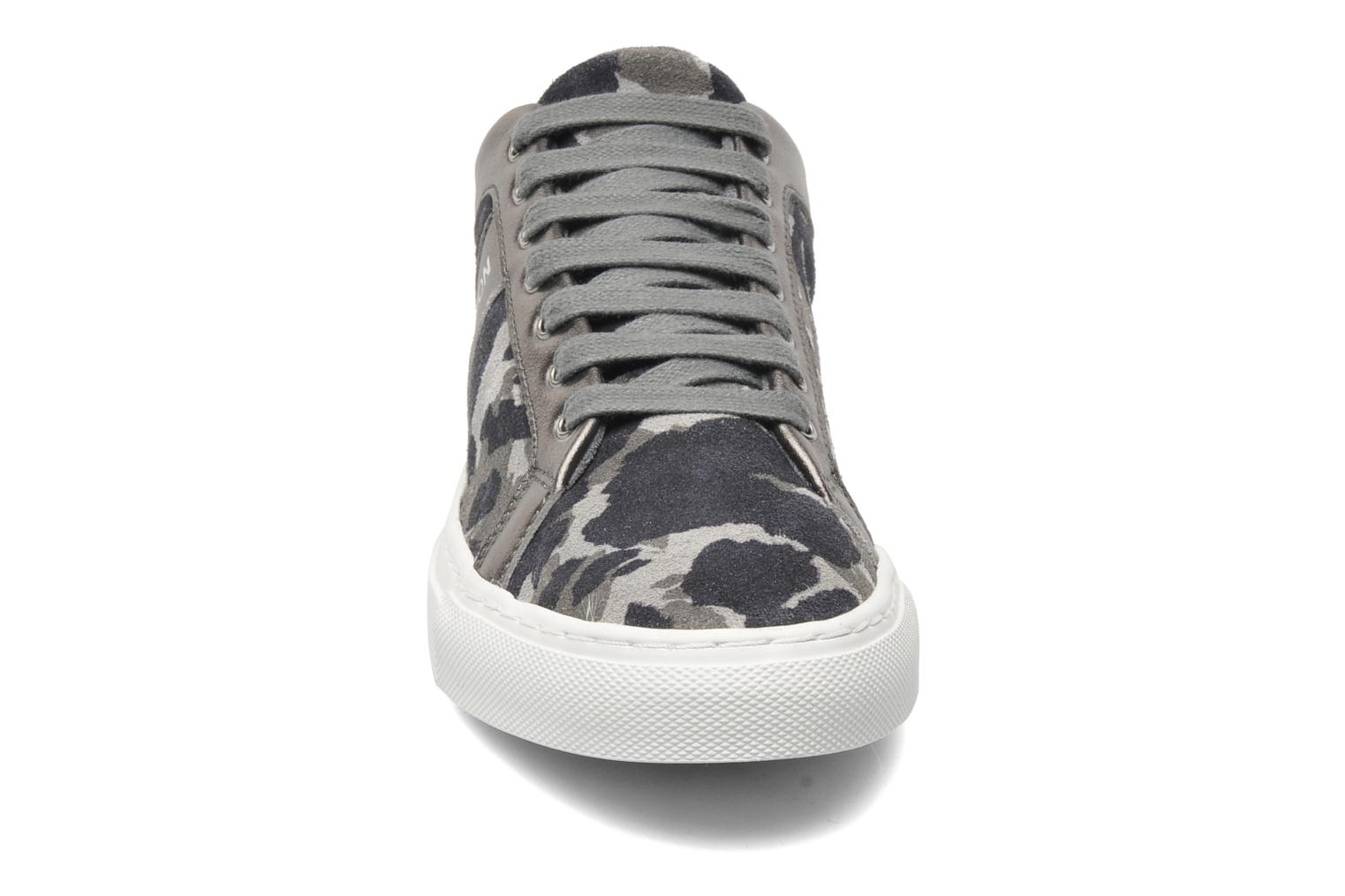 Trainers Bensimon Flexys Camocolor Multicolor model view
