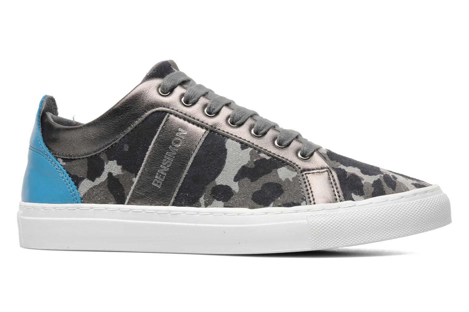 Trainers Bensimon Flexys Camocolor Multicolor back view