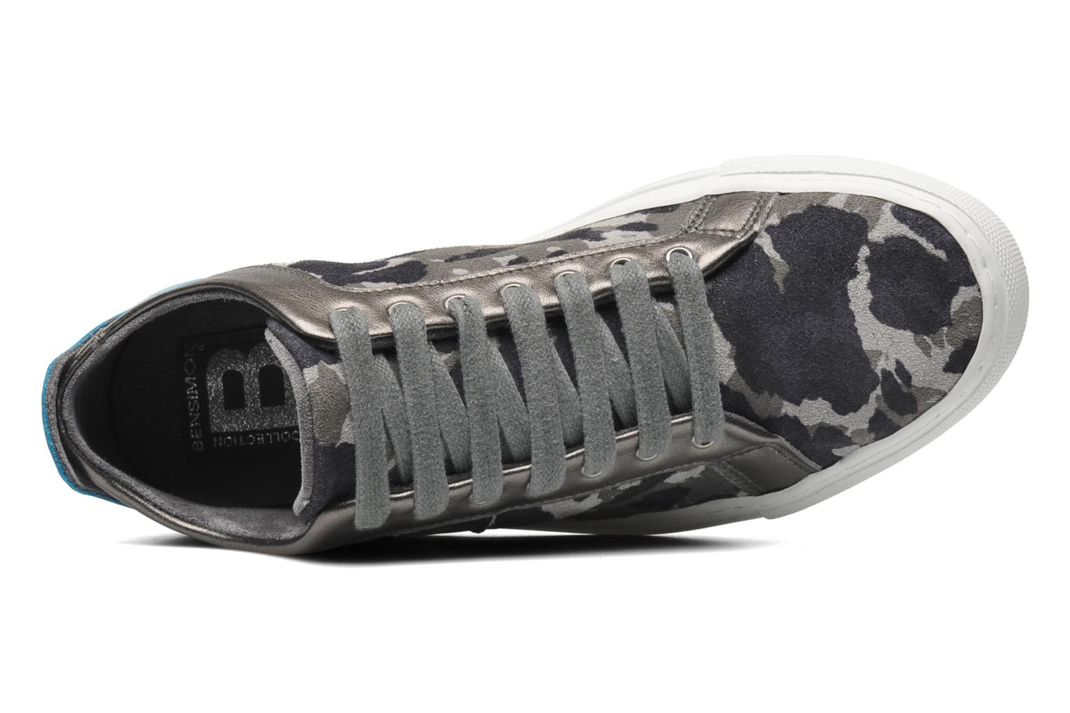 Trainers Bensimon Flexys Camocolor Multicolor view from the left