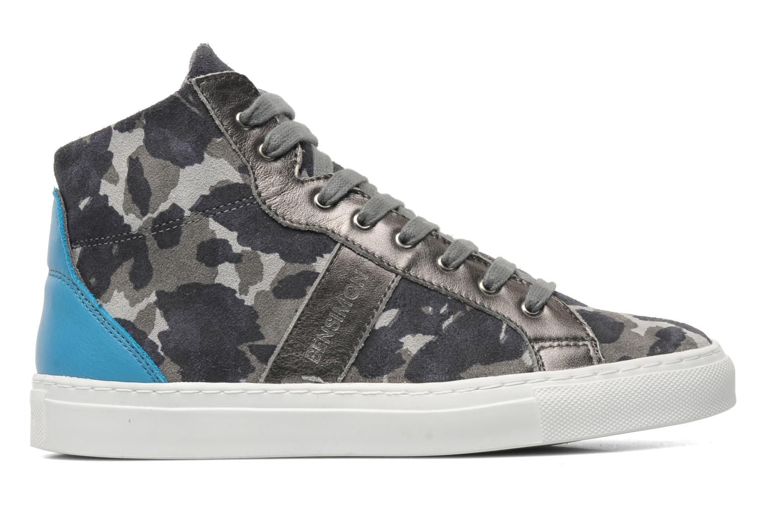 Trainers Bensimon Sneakys Camocolor Grey back view