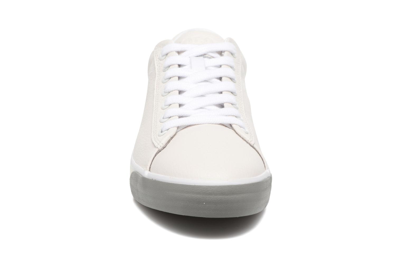 Baskets Polo Ralph Lauren Harvey Blanc vue portées chaussures