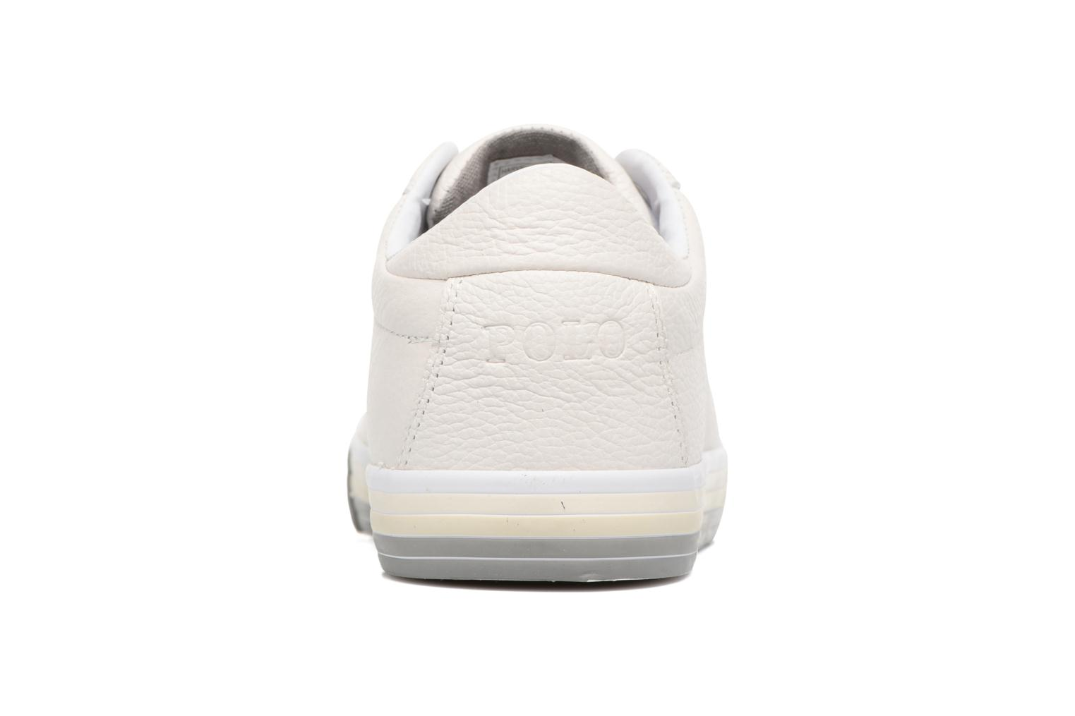 Trainers Polo Ralph Lauren Harvey White view from the right