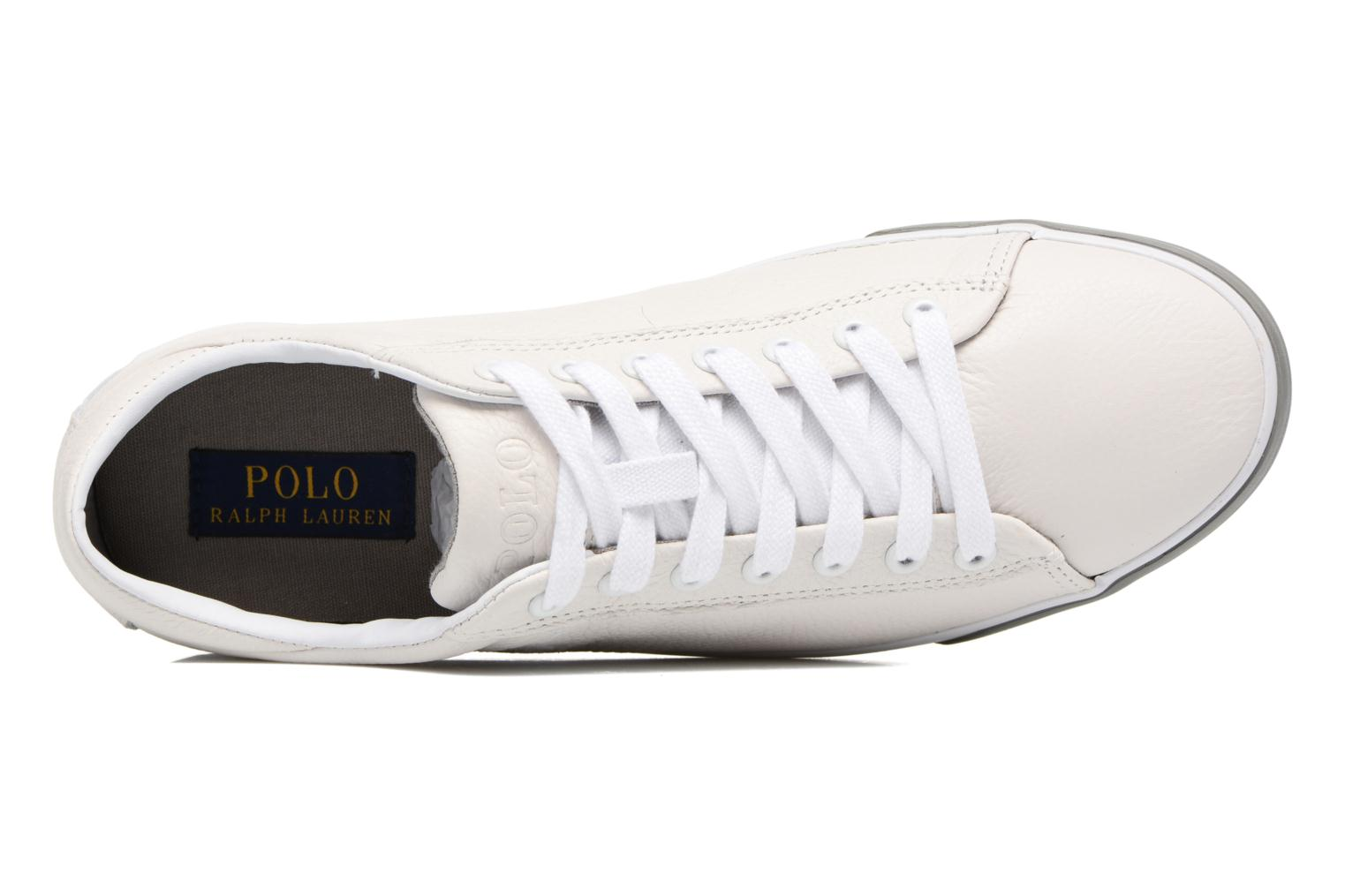 Trainers Polo Ralph Lauren Harvey White view from the left
