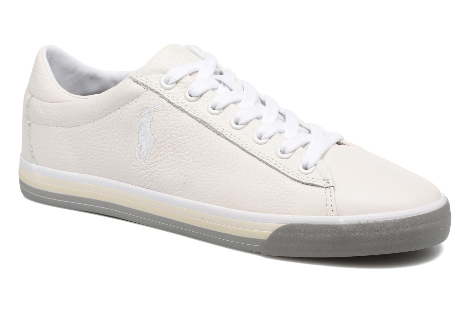 Trainers Polo Ralph Lauren Harvey White detailed view/ Pair view