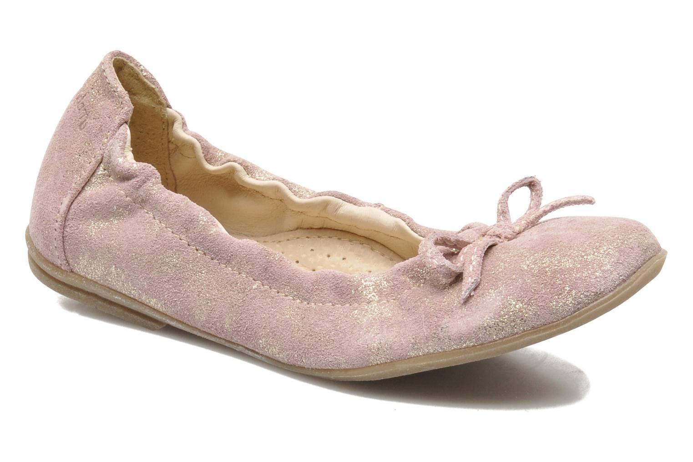 Ballerines Ramdam by GBB LISBONNE Rose vue détail/paire