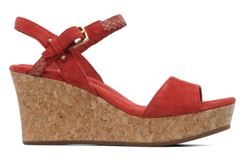 Sandalen UGG D'Alessio rot ansicht von hinten