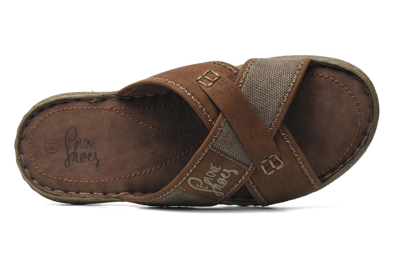 Sandalen I Love Shoes Suvabien Bruin links