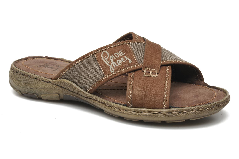Sandalen I Love Shoes Suvabien Bruin detail