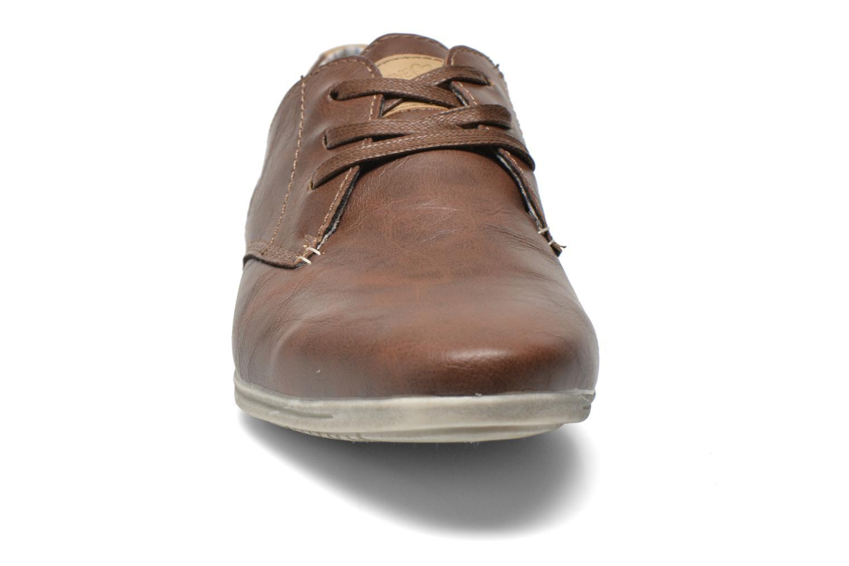 Veterschoenen I Love Shoes Suboites Bruin model