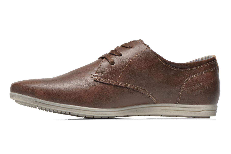 Veterschoenen I Love Shoes Suboites Bruin voorkant