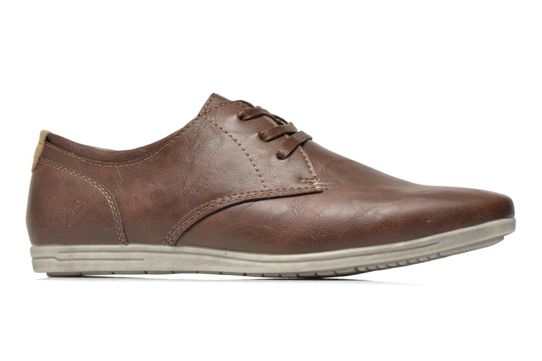 Veterschoenen I Love Shoes Suboites Bruin achterkant
