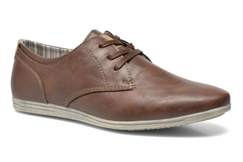 Veterschoenen I Love Shoes Suboites Bruin detail