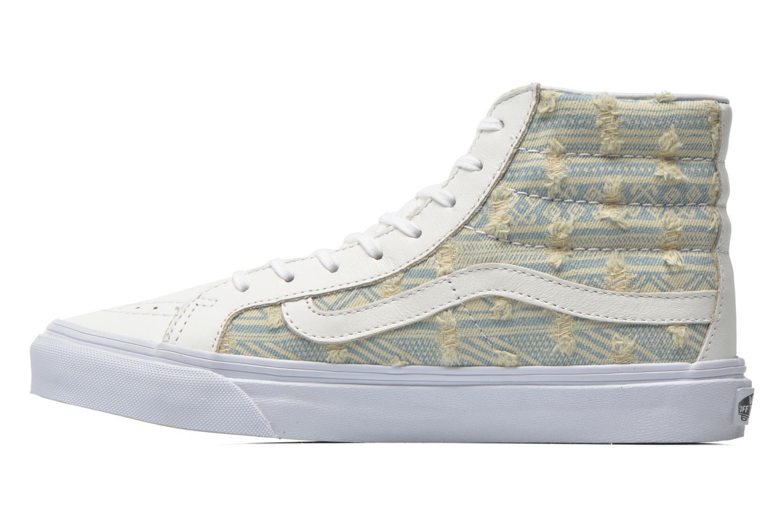 Sneaker Vans Sk8-Hi Slim W weiß ansicht von vorne