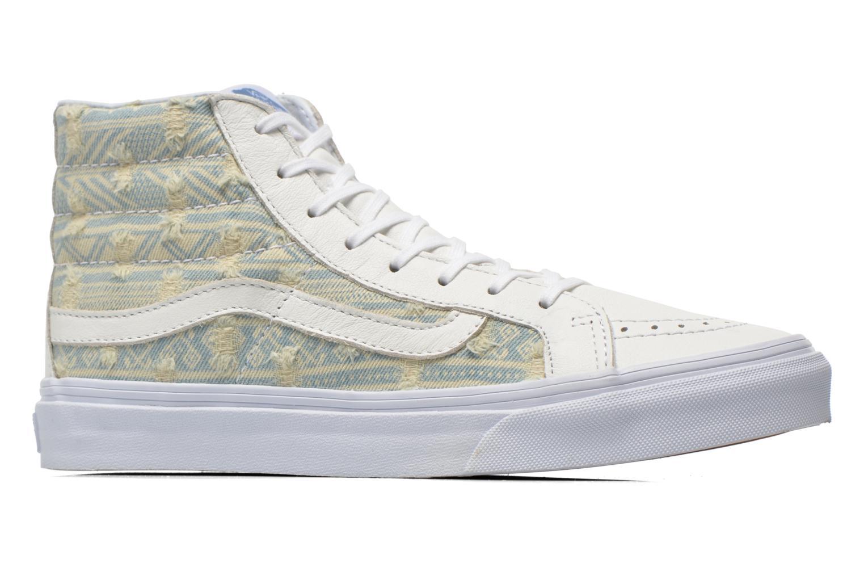 Sneaker Vans Sk8-Hi Slim W weiß ansicht von hinten