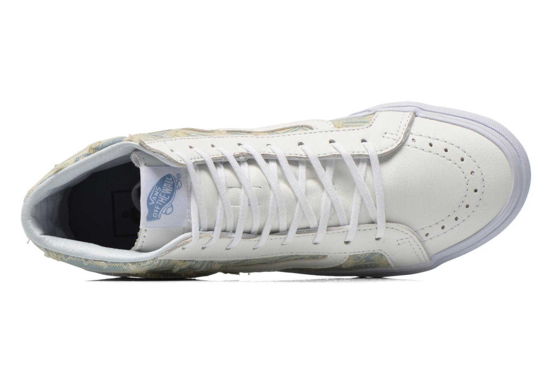 Baskets Vans Sk8-Hi Slim W Blanc vue gauche