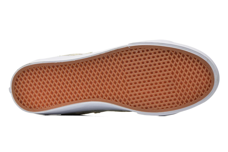 Sneaker Vans Sk8-Hi Slim W weiß ansicht von oben