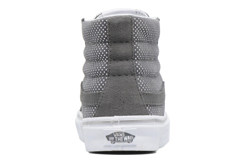 Sneaker Vans Sk8-Hi Slim W grau ansicht von rechts
