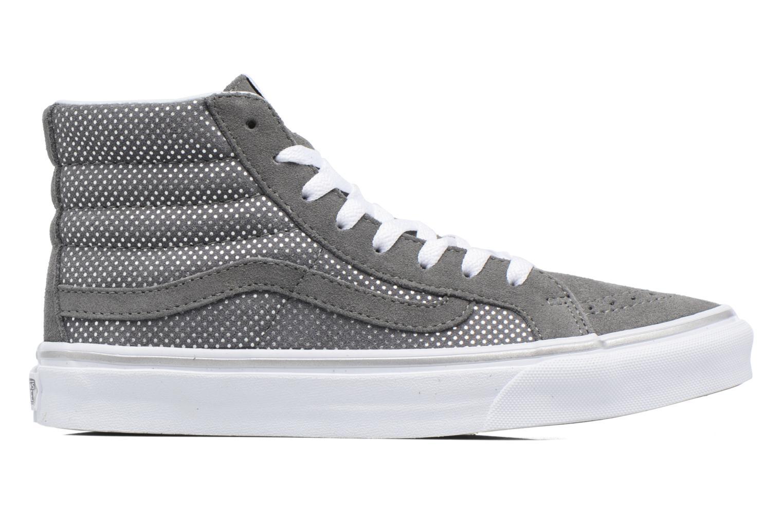 Sneaker Vans Sk8-Hi Slim W grau ansicht von hinten