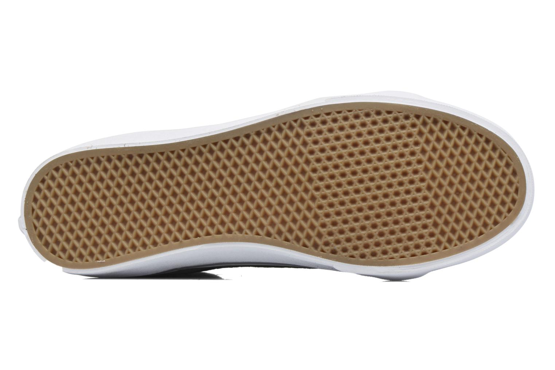 Sneaker Vans Sk8-Hi Slim W grau ansicht von oben