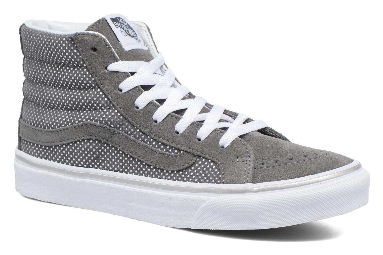 Sk8-Hi Slim W (Metallic Dots) Dark Gray/Pewter