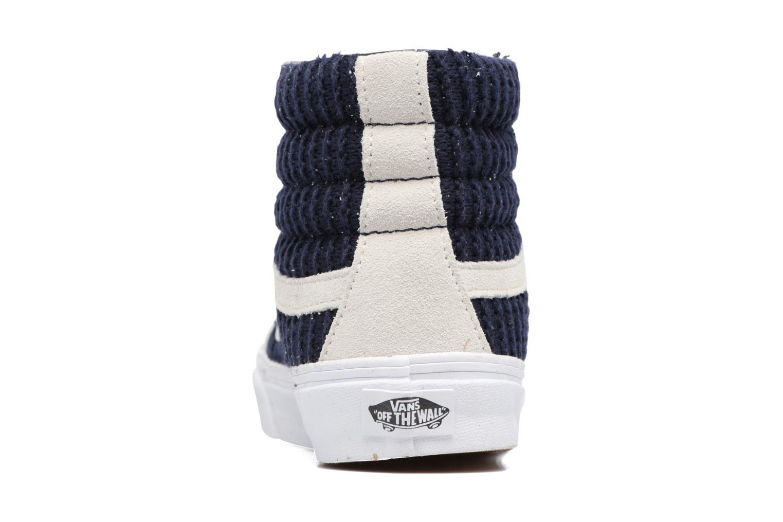 Sneakers Vans Sk8-Hi Slim W Azzurro immagine destra