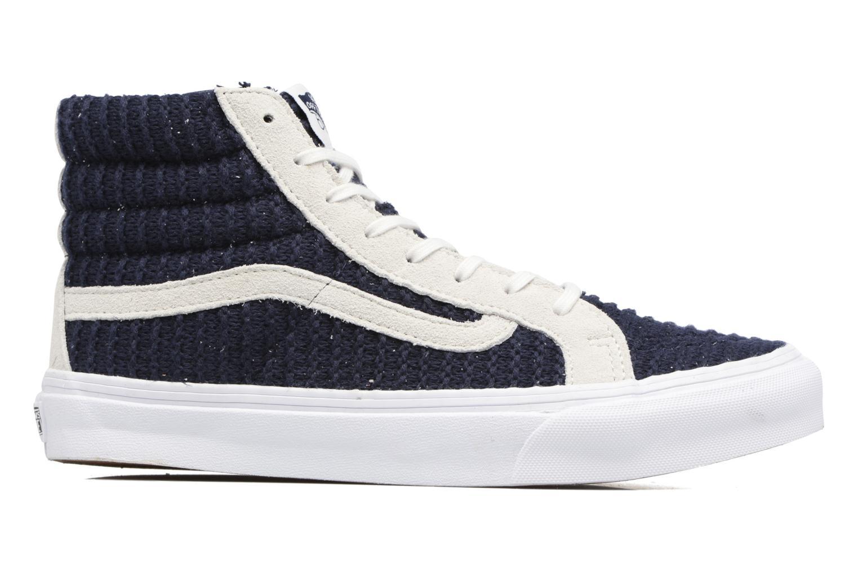 Sneakers Vans Sk8-Hi Slim W Azzurro immagine posteriore
