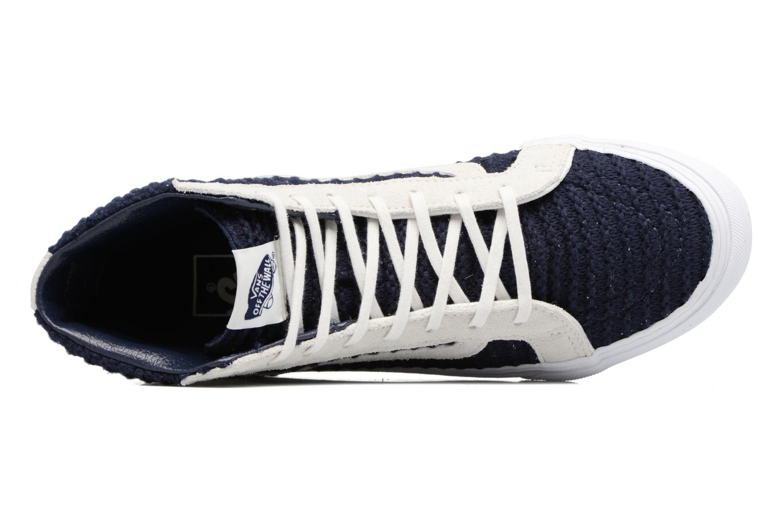 Sneakers Vans Sk8-Hi Slim W Azzurro immagine sinistra