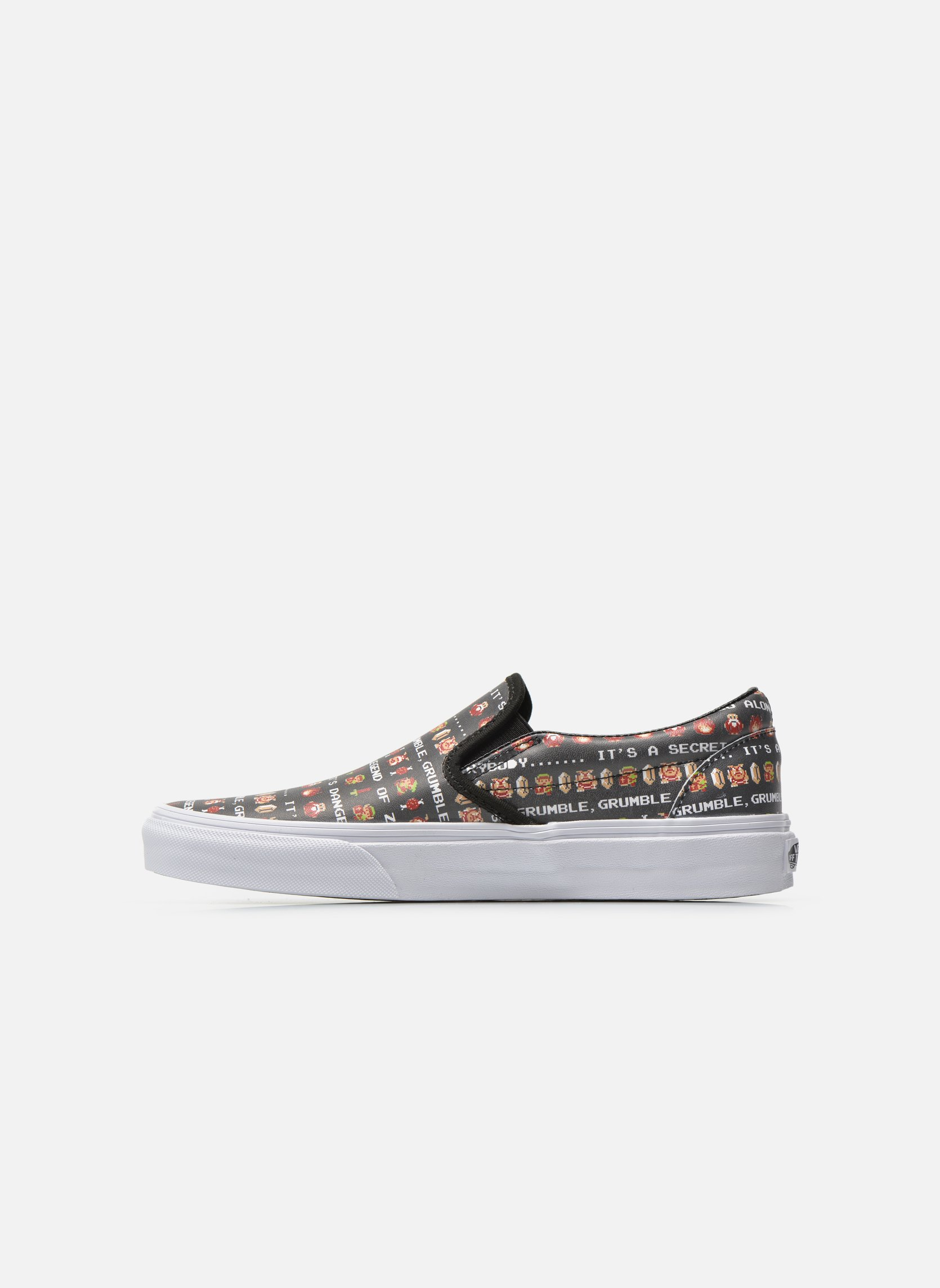Classic Slip-On W (Nintendo) Zelda/black