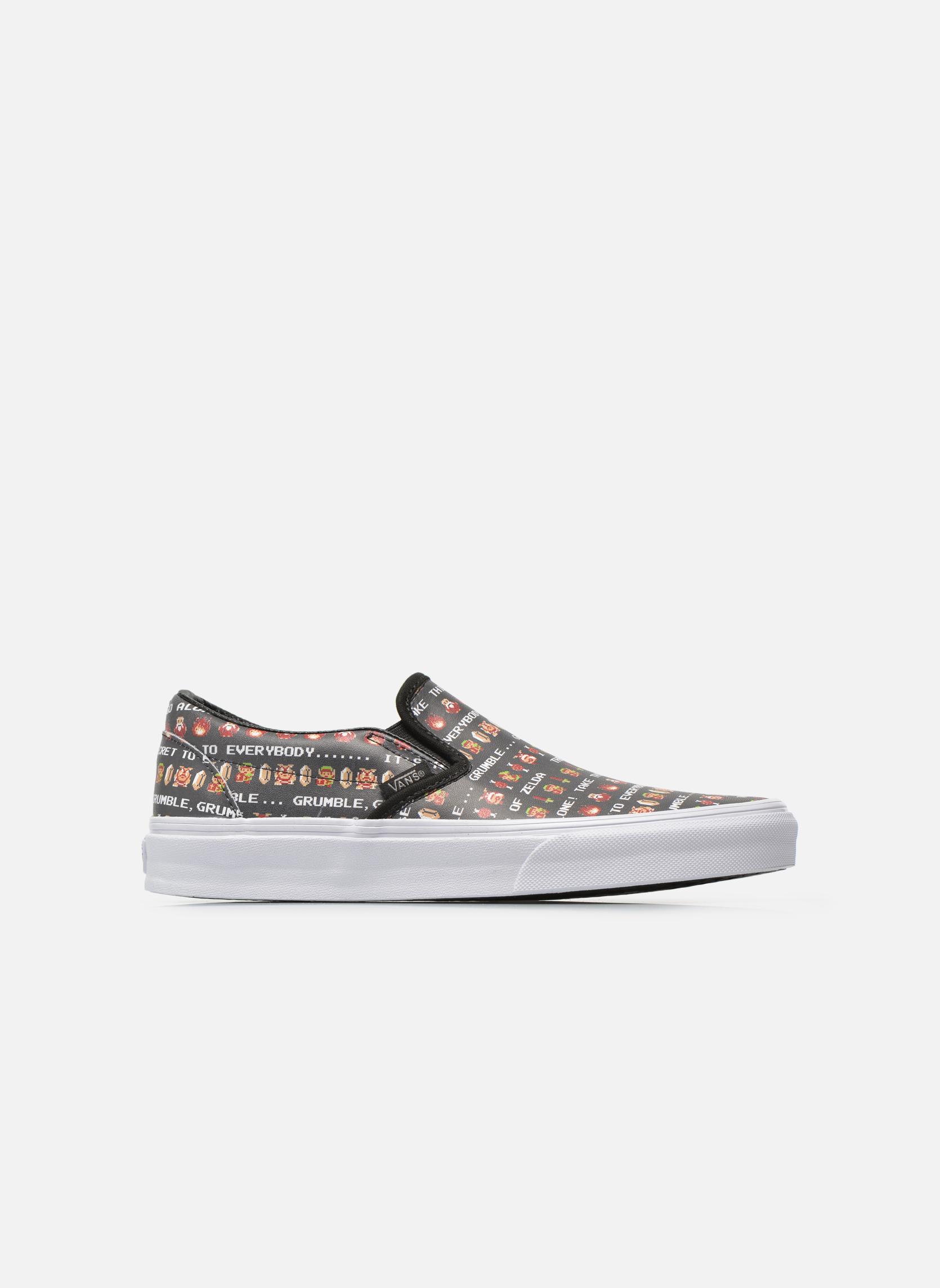 Baskets Vans Classic Slip-On W Multicolore vue derrière