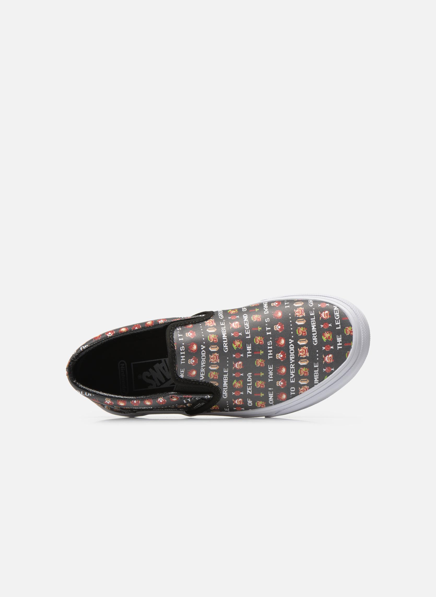 Baskets Vans Classic Slip-On W Multicolore vue gauche
