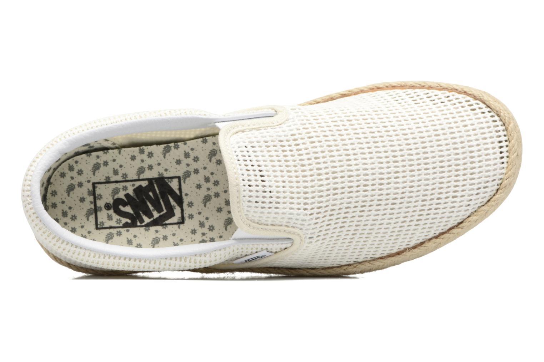 Baskets Vans Classic Slip-On W Blanc vue gauche