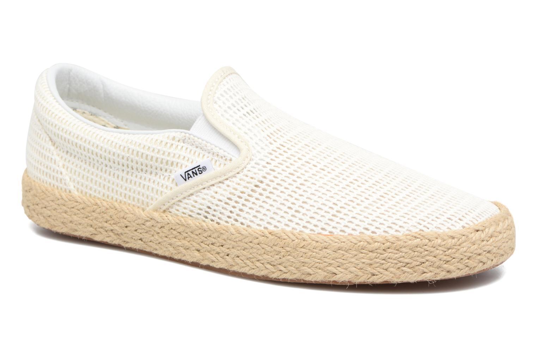Baskets Vans Classic Slip-On W Blanc vue détail/paire