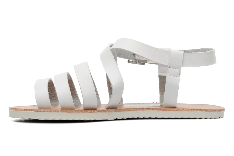 Sandalen I Love Shoes Tharoue weiß ansicht von vorne