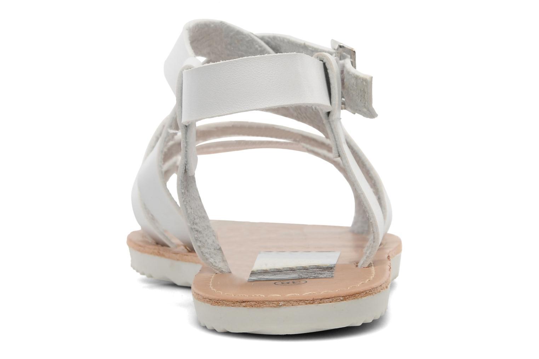 Sandalen I Love Shoes Tharoue weiß ansicht von rechts