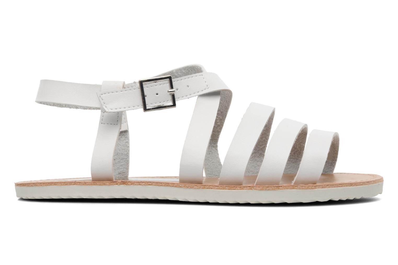 Sandalen I Love Shoes Tharoue weiß ansicht von hinten