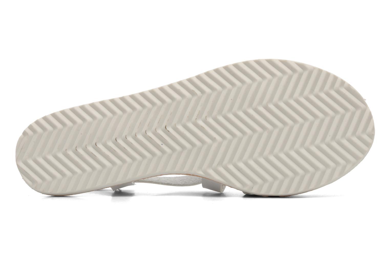 Sandalen I Love Shoes Tharoue weiß ansicht von oben