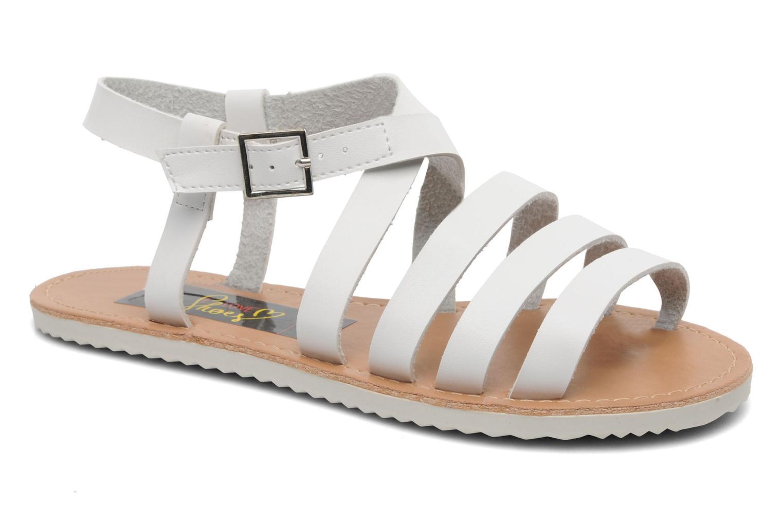 Sandalen I Love Shoes Tharoue weiß detaillierte ansicht/modell